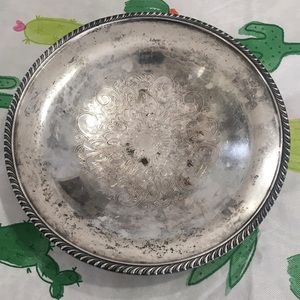 Wm.A. Rogers Silverplated Copper Candy Dish